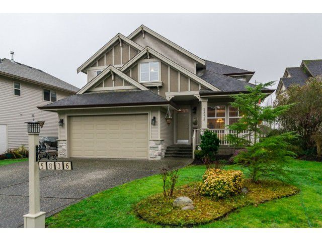 """Main Photo: 5836 167TH Street in Surrey: Cloverdale BC House for sale in """"WESTSIDE TERRACE"""" (Cloverdale)  : MLS®# F1431310"""