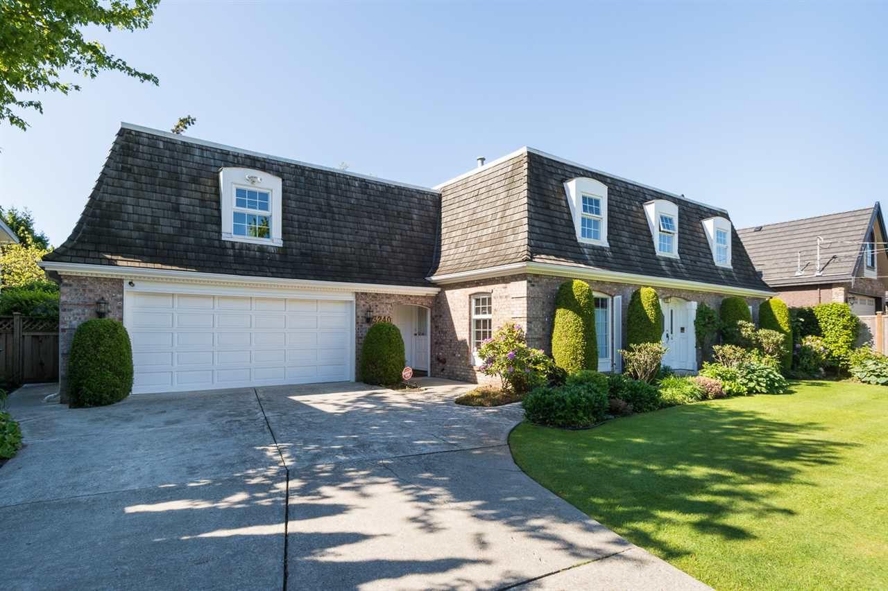 Main Photo: 3240 GRANVILLE Avenue in Richmond: Quilchena RI House for sale : MLS®# R2071805