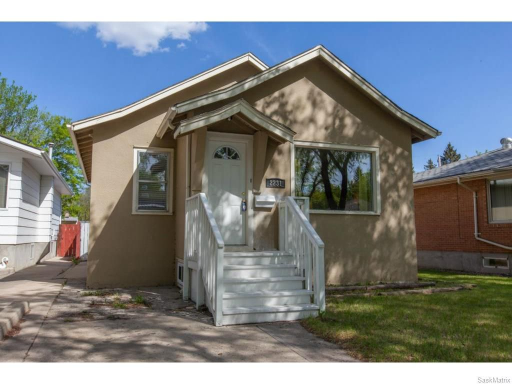 Main Photo: 2231 Herman Avenue in Saskatoon: Exhibition Residential for sale : MLS®# 610878