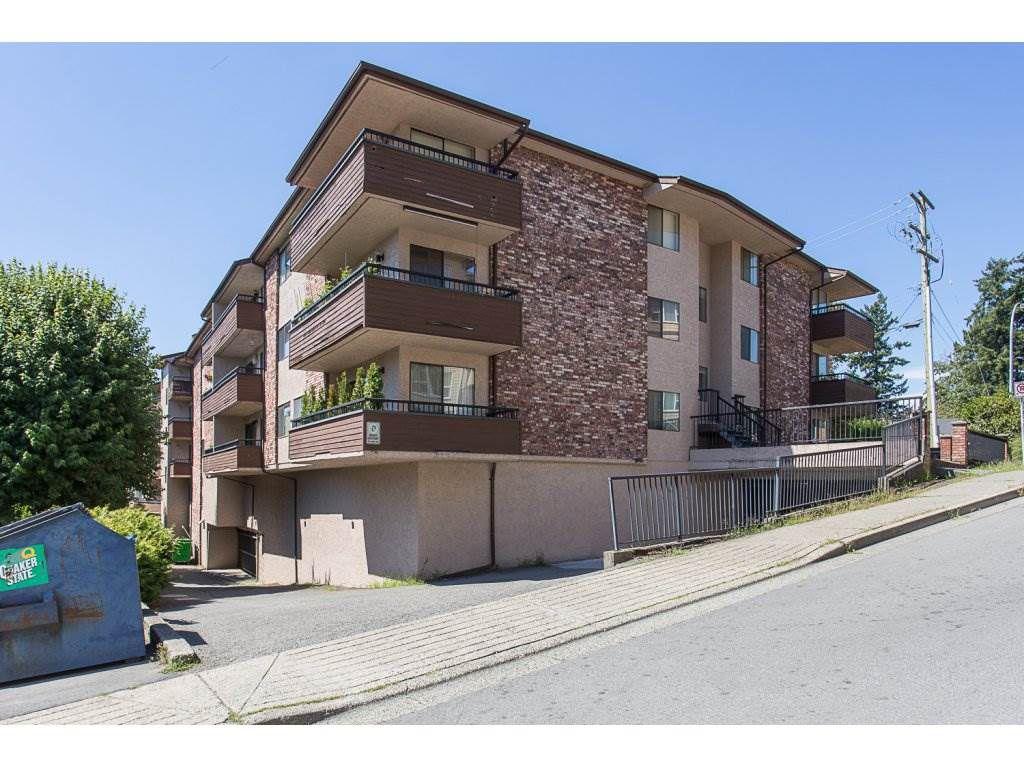"""Main Photo: 105 33956 ESSENDENE Avenue in Abbotsford: Central Abbotsford Condo for sale in """"Hillcrest Manor"""" : MLS®# R2192762"""