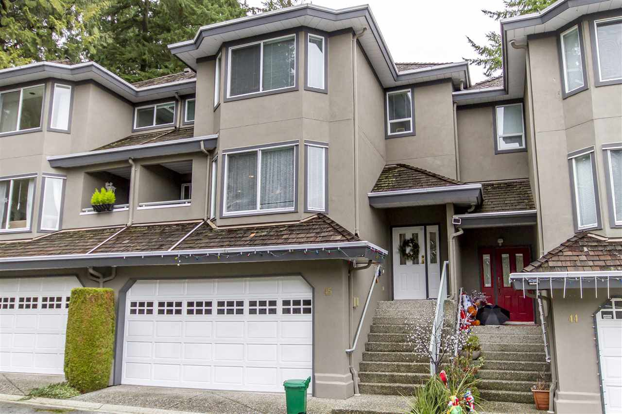 "Main Photo: 45 2990 PANORAMA Drive in Coquitlam: Westwood Plateau Townhouse for sale in ""WESTBROOK VILLAGE"" : MLS®# R2235190"