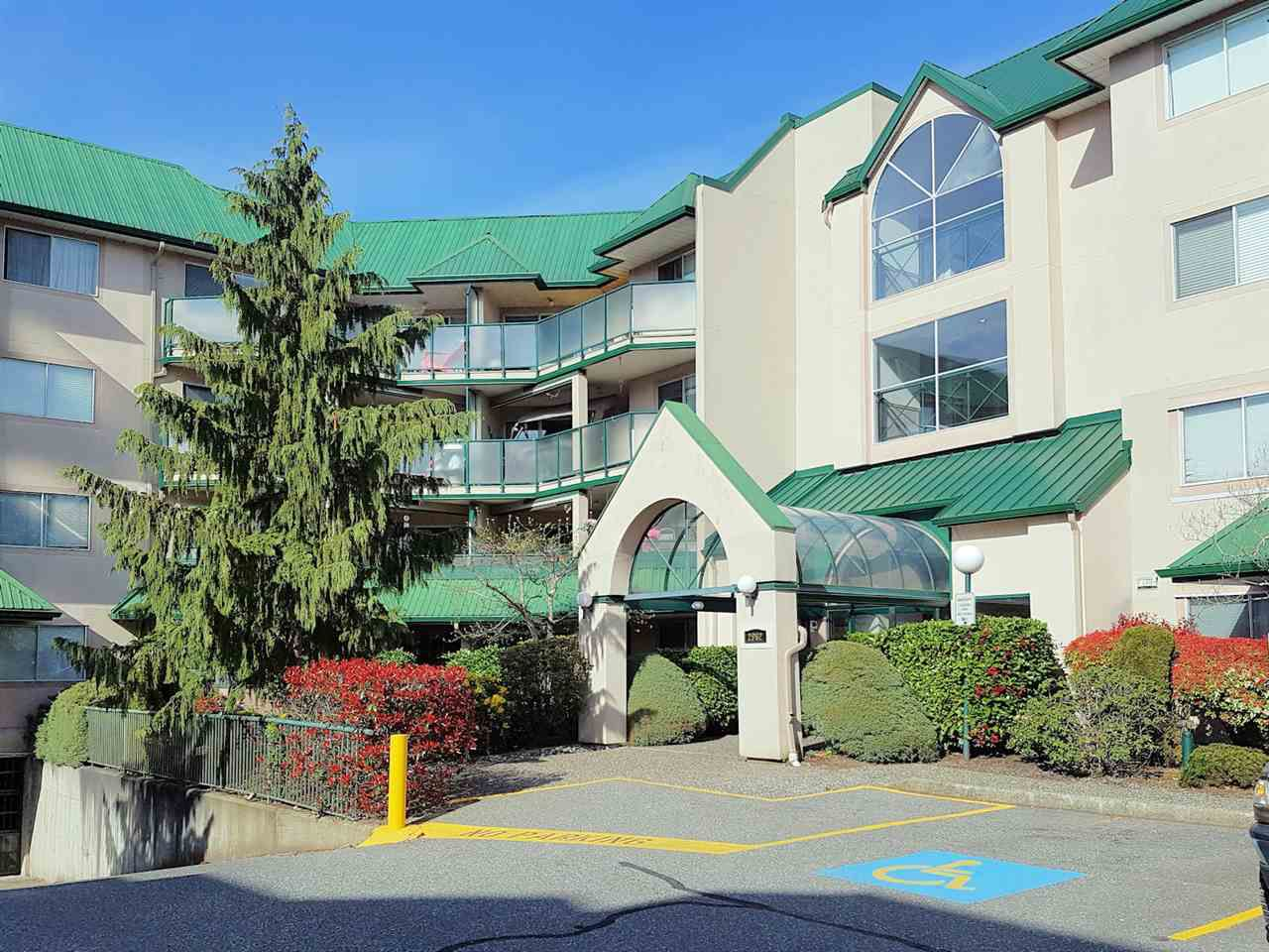 "Main Photo: 409 2962 TRETHEWEY Street in Abbotsford: Abbotsford West Condo for sale in ""CASCADE GREEN"" : MLS®# R2259188"