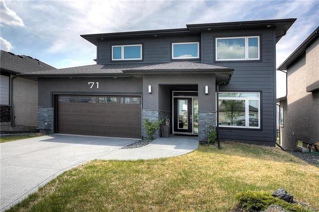 Main Photo: 71 Lake Bend Road in Winnipeg: Bridgwater Lakes Residential for sale (1R)  : MLS®# 1814165