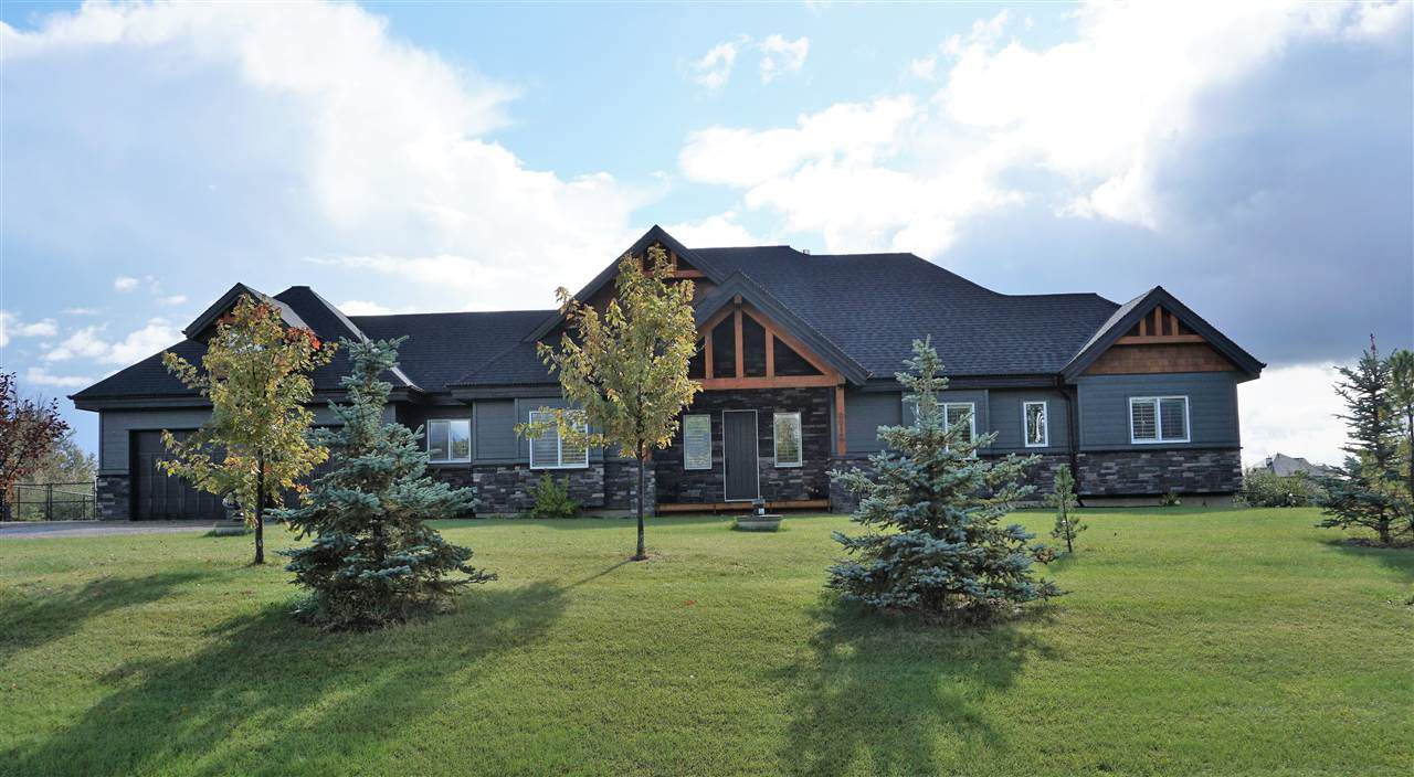 Main Photo: 2012 Spring Lake Drive: Rural Parkland County House for sale : MLS®# E4130567