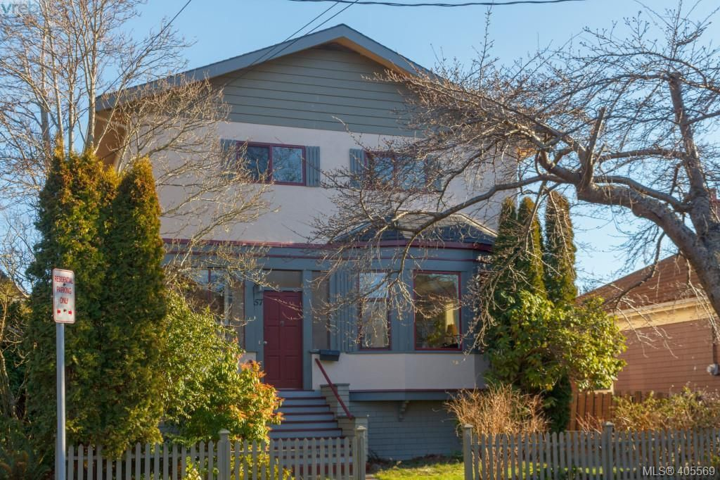 Main Photo: 57 South Turner Street in VICTORIA: Vi James Bay Single Family Detached for sale (Victoria)  : MLS®# 405569