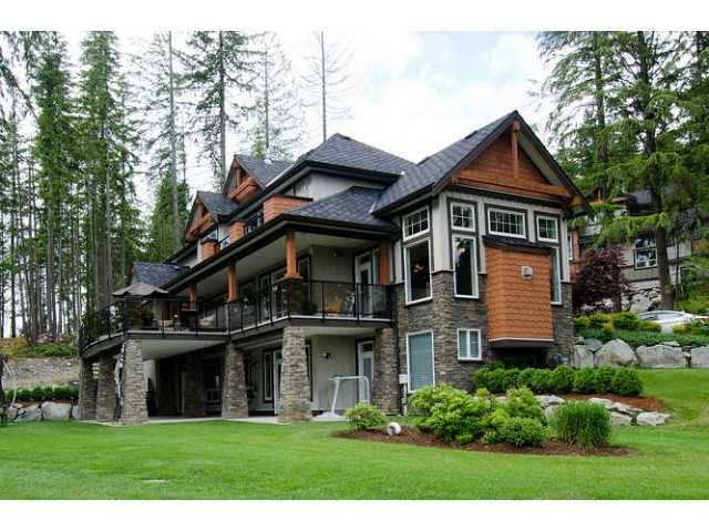 Main Photo: 1465 CRYSTAL CREEK DR: Anmore House for sale (Port Moody)  : MLS®# V1013588
