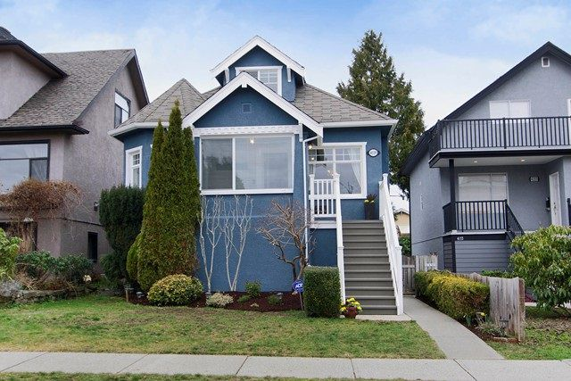 Main Photo: 4139 PANDORA Street in Burnaby: Vancouver Heights House for sale (Burnaby North)  : MLS®# R2028120