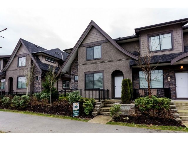 "Main Photo: 22 6895 188 Street in Surrey: Clayton Townhouse for sale in ""BELLA VITA"" (Cloverdale)  : MLS®# R2030116"