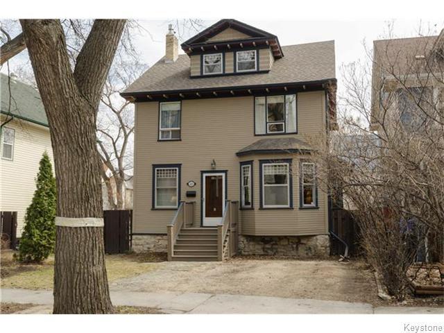 Main Photo: 221 Walnut Street in Winnipeg: West End / Wolseley Residential for sale (West Winnipeg)  : MLS®# 1609946