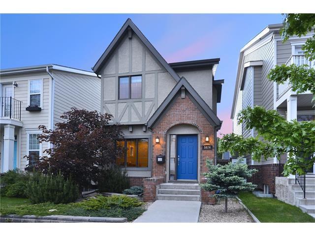 Main Photo: 5624 HENWOOD Street SW in Calgary: Garrison Green House for sale : MLS®# C4064510