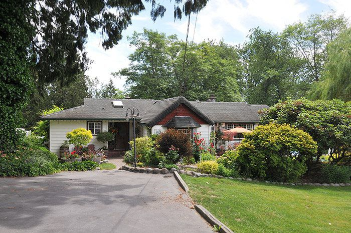 Cozy rancher with basement on two acres
