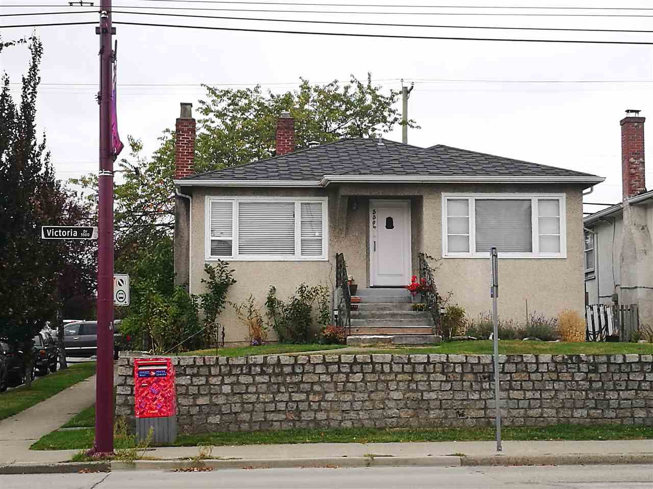 Main Photo: 5504 VICTORIA Drive in Vancouver: Victoria VE House for sale (Vancouver East)  : MLS®# R2212705