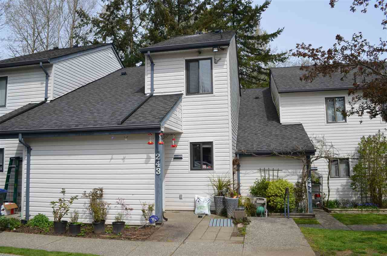 "Main Photo: 243 13608 67TH Avenue in Surrey: East Newton Townhouse for sale in ""COUNTRY HOUSE ESTATES"" : MLS®# R2258899"