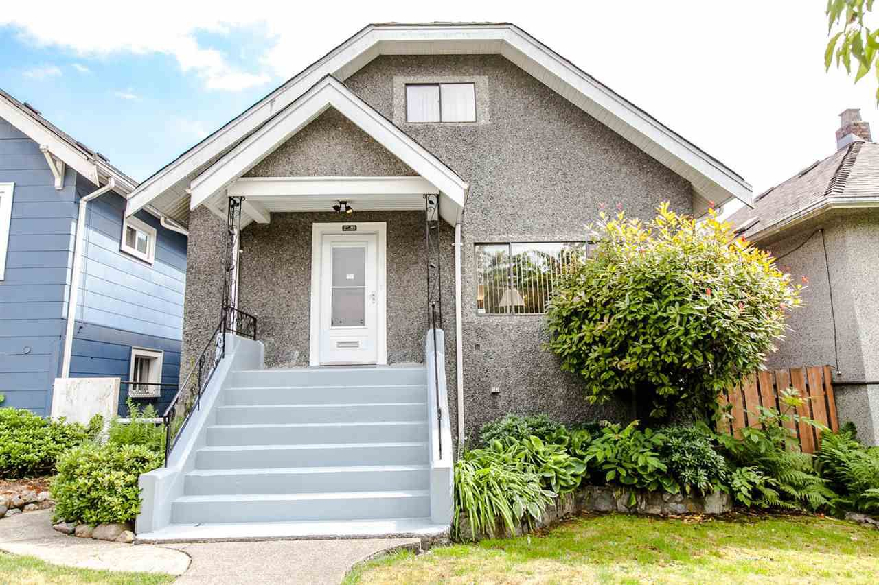 "Main Photo: 2540 TURNER Street in Vancouver: Renfrew VE House for sale in ""HASTINGS EAST"" (Vancouver East)  : MLS®# R2288001"
