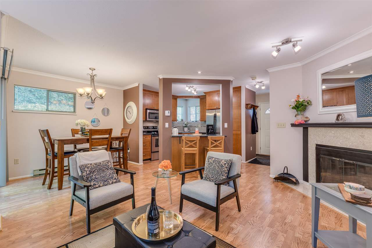 """Main Photo: 5 98 BEGIN Street in Coquitlam: Maillardville Townhouse for sale in """"LE PARC"""" : MLS®# R2301980"""