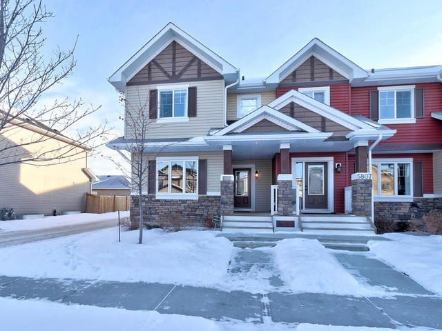 Main Photo: 5809 63 Street: Beaumont House Half Duplex for sale : MLS®# E4140382