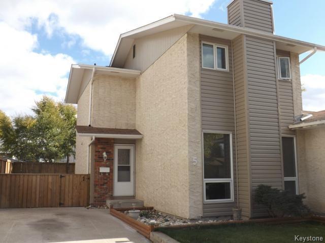 Main Photo: 5 Melonlea Cove in WINNIPEG: North Kildonan Residential for sale (North East Winnipeg)  : MLS®# 1323261