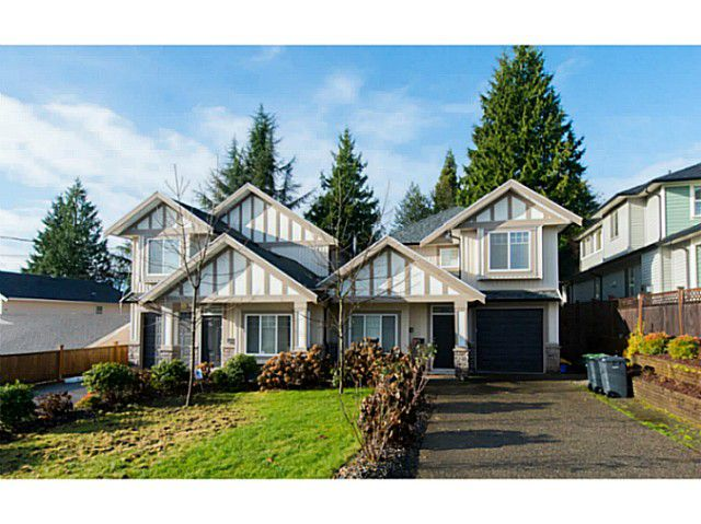 """Main Photo: 312 BURNS Street in Coquitlam: Coquitlam West House 1/2 Duplex for sale in """"COQUITLAM WEST"""" : MLS?# V1094906"""