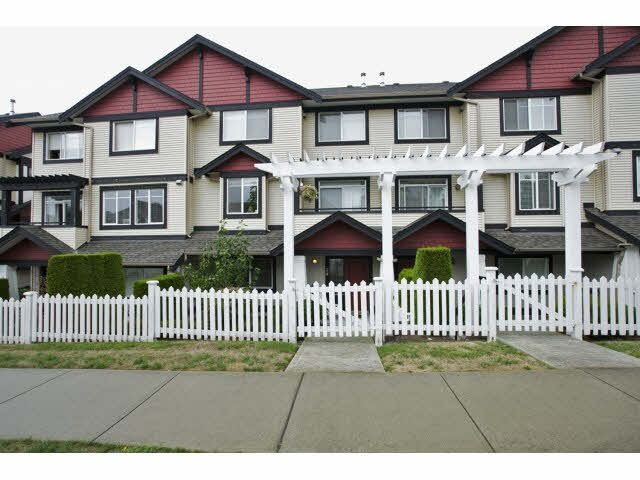 "Main Photo: 24 7168 179TH Street in Surrey: Cloverdale BC Townhouse for sale in ""OVATION"" (Cloverdale)  : MLS®# F1449821"