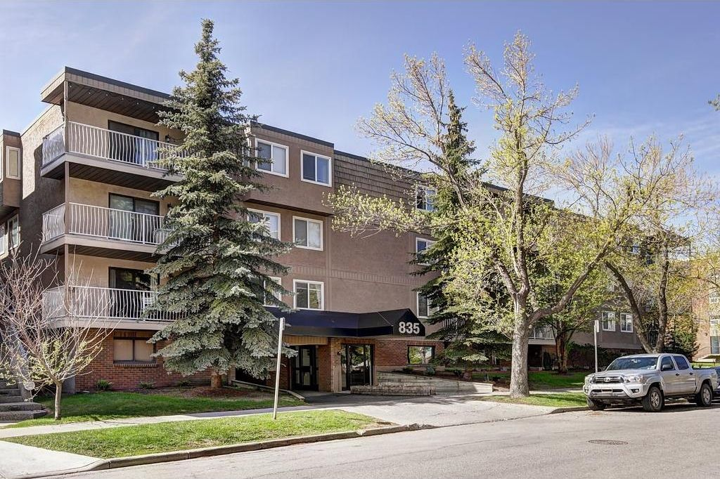 Main Photo: # 835 19 AV SW in Calgary: Lower Mount Royal Condo for sale : MLS®# C4117697
