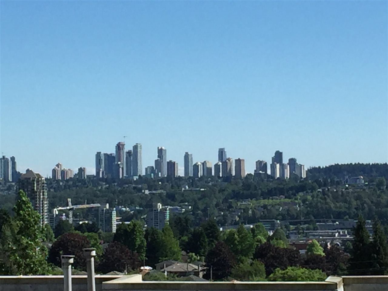 South View to Metro Town Burnaby