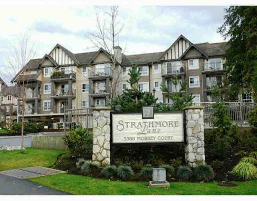 "Main Photo: 212 3388 MORREY Court in Burnaby: Sullivan Heights Condo for sale in ""STRATHMORE LANE"" (Burnaby North)  : MLS®# R2189753"