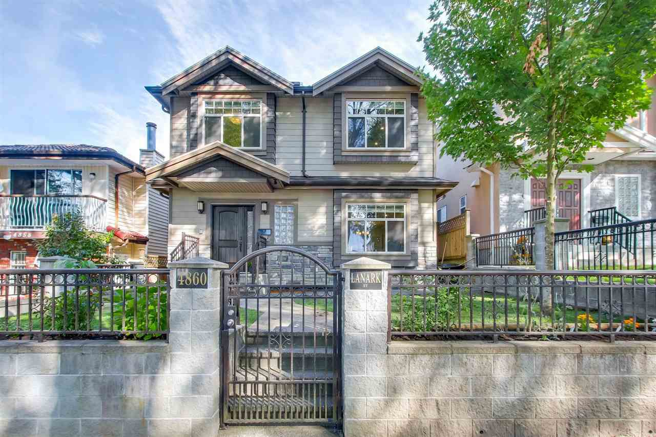 Main Photo: 4860 LANARK Street in Vancouver: Knight House for sale (Vancouver East)  : MLS®# R2205703