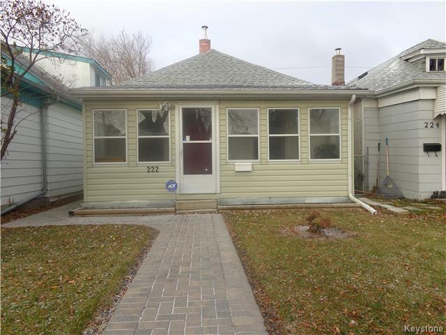 Main Photo: 222 Rutland Street in Winnipeg: St James Residential for sale (5E)  : MLS®# 1728306