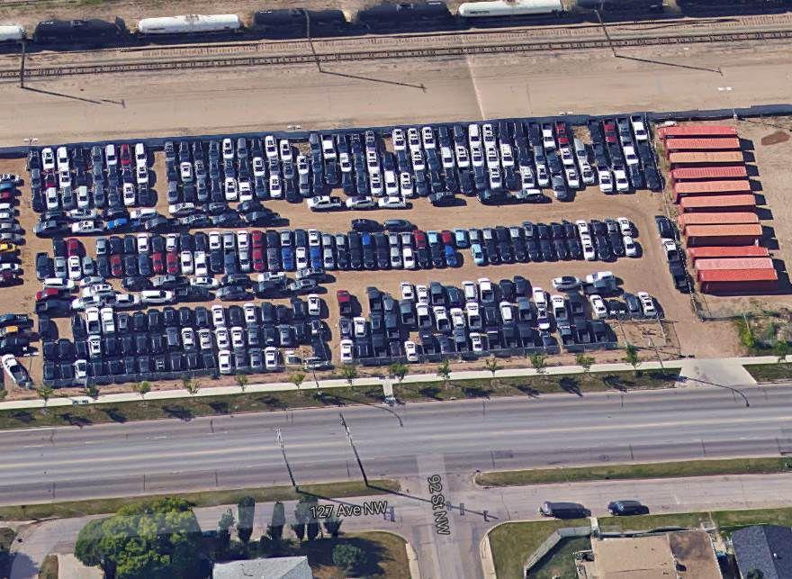 Main Photo: 9203 127 Avenue NW in Edmonton: Yellowhead Corridor East Land (Commercial) for lease : MLS®# E4047442
