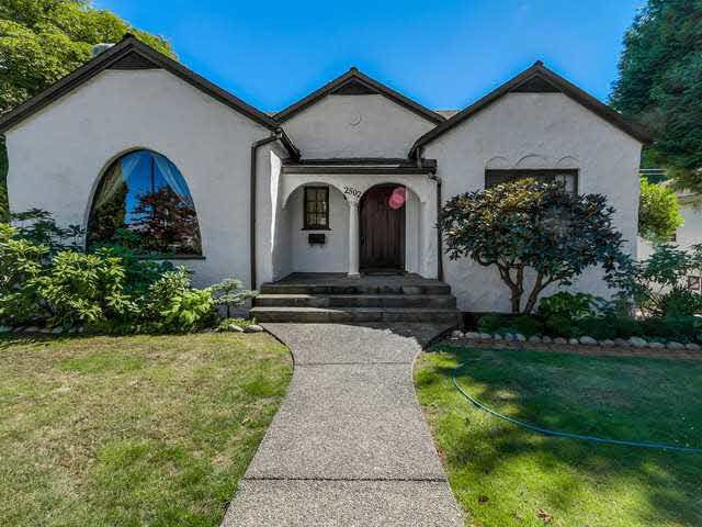 Main Photo: 2502 W 33RD AVENUE in Vancouver: MacKenzie Heights House for sale (Vancouver West)  : MLS®# R2168305