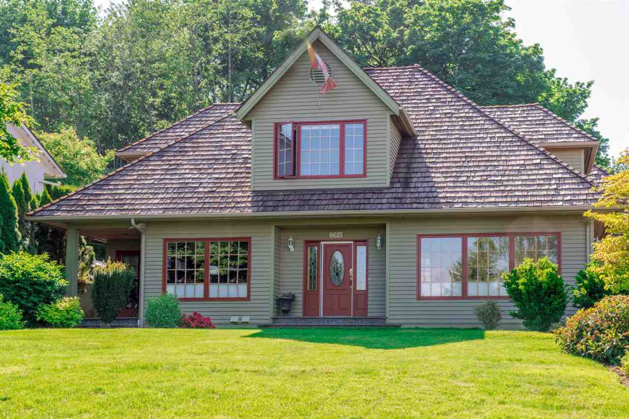 Main Photo: 8615 SUNRISE DRIVE in : Chilliwack Mountain House for sale (Chilliwack)  : MLS®# R2173237
