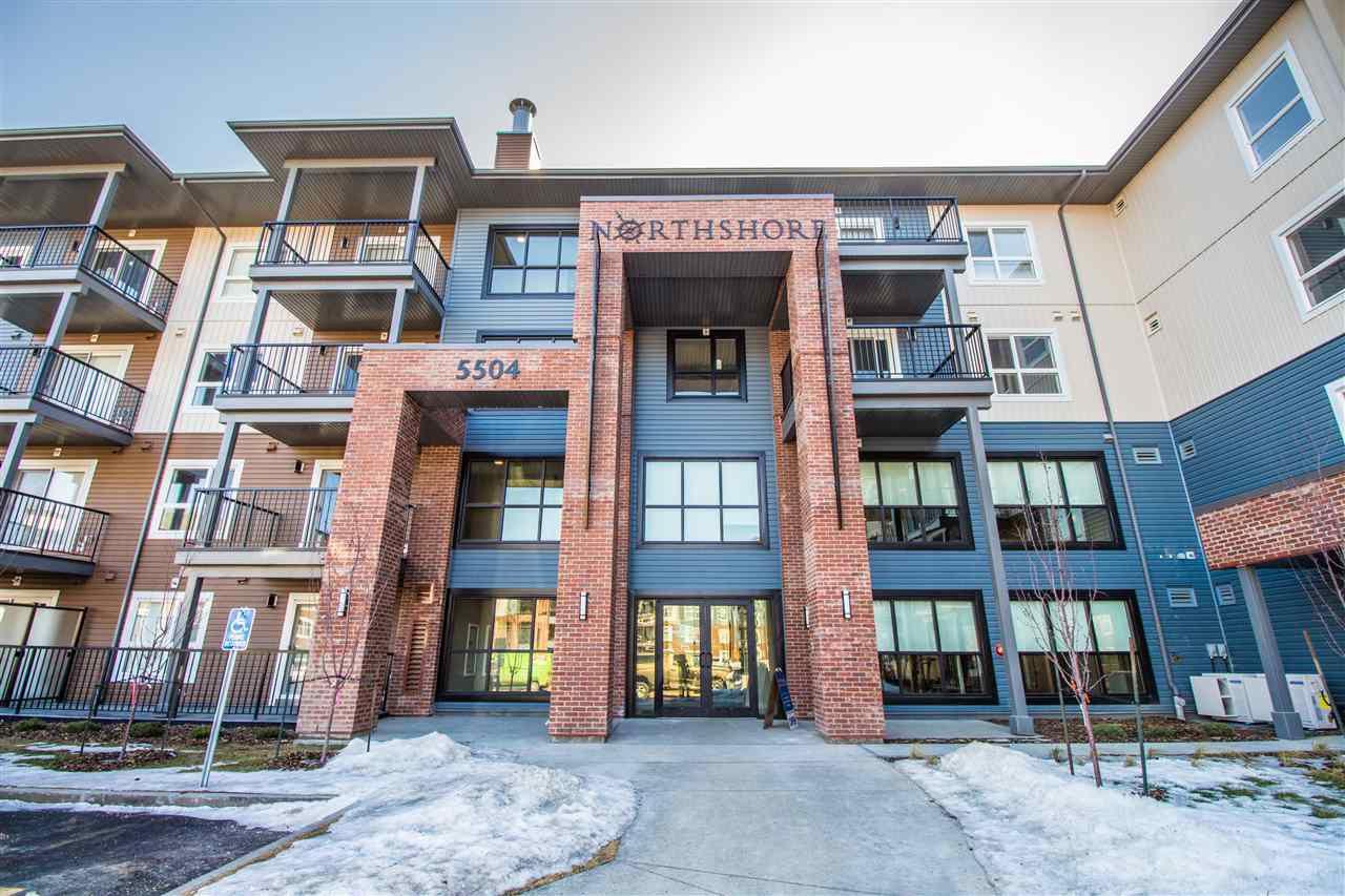 Main Photo: 222 5504 Schonsee Drive in Edmonton: Zone 28 Condo for sale : MLS®# E4150017