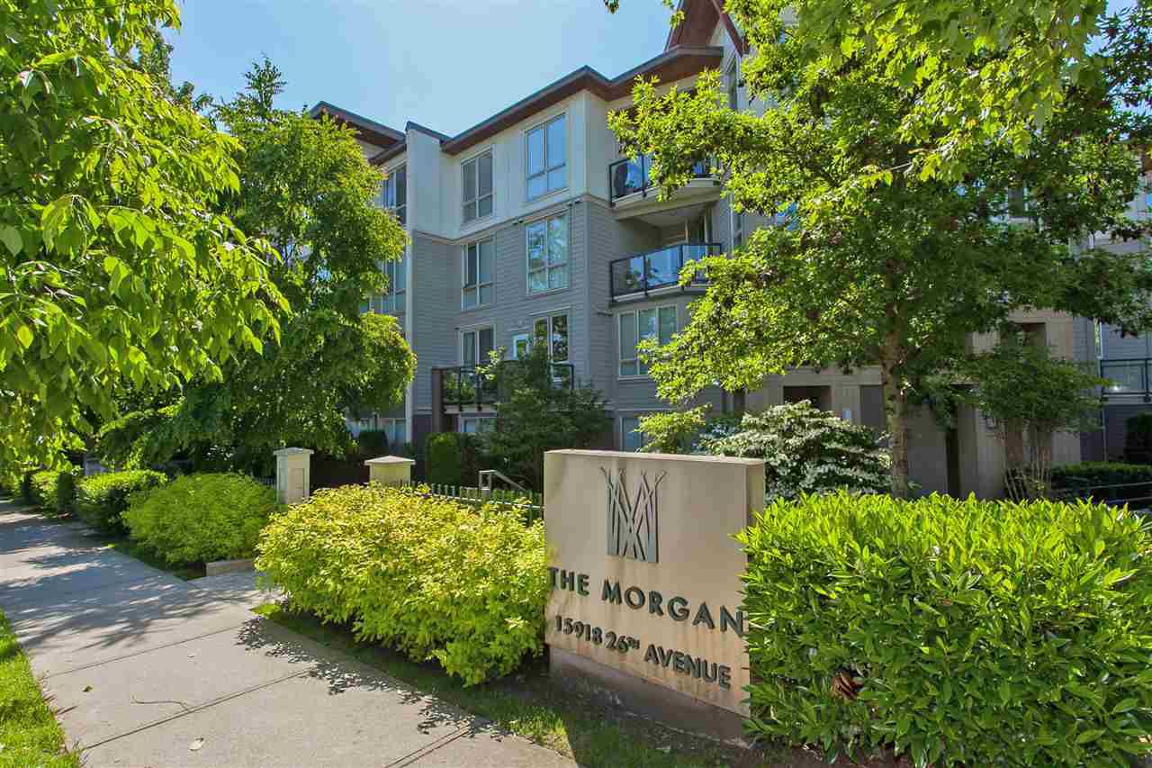 "Main Photo: 320 15918 26 Avenue in Surrey: Grandview Surrey Condo for sale in ""The Morgan"" (South Surrey White Rock)  : MLS®# R2361781"