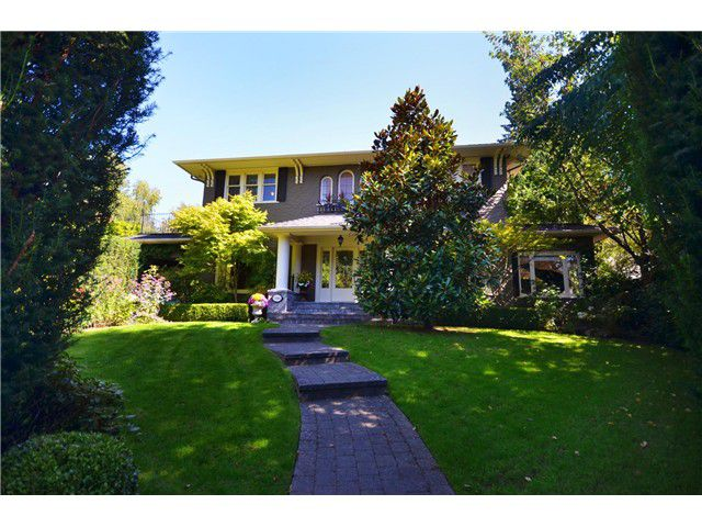 Main Photo: 5584 Laburnum Street in Vancouver: Shaughnessy House for sale (Vancouver West)  : MLS®# V991573