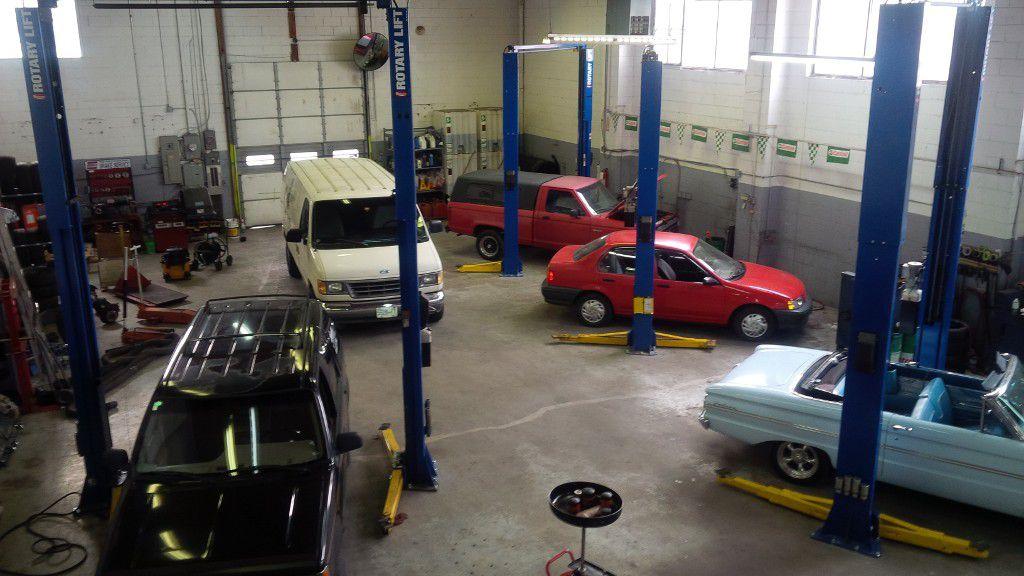 Main Photo: ~ Automotive Repair Shop: Home for sale