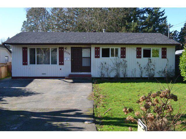Main Photo: 8759 157TH Street in Surrey: Fleetwood Tynehead House for sale : MLS®# F1432580