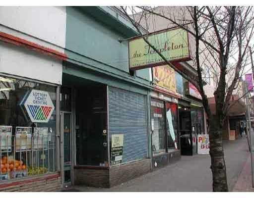 Main Photo: 1087 GRANVILLE Street in Vancouver: Downtown VW Commercial for sale (Vancouver West)  : MLS®# V4044351