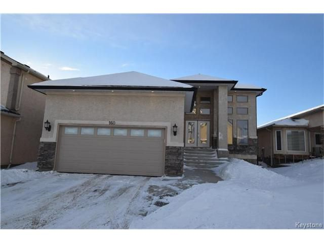 Main Photo: 160 Perfanick Drive in Winnipeg: Harbour View South Residential for sale (3J)  : MLS®# 1703010