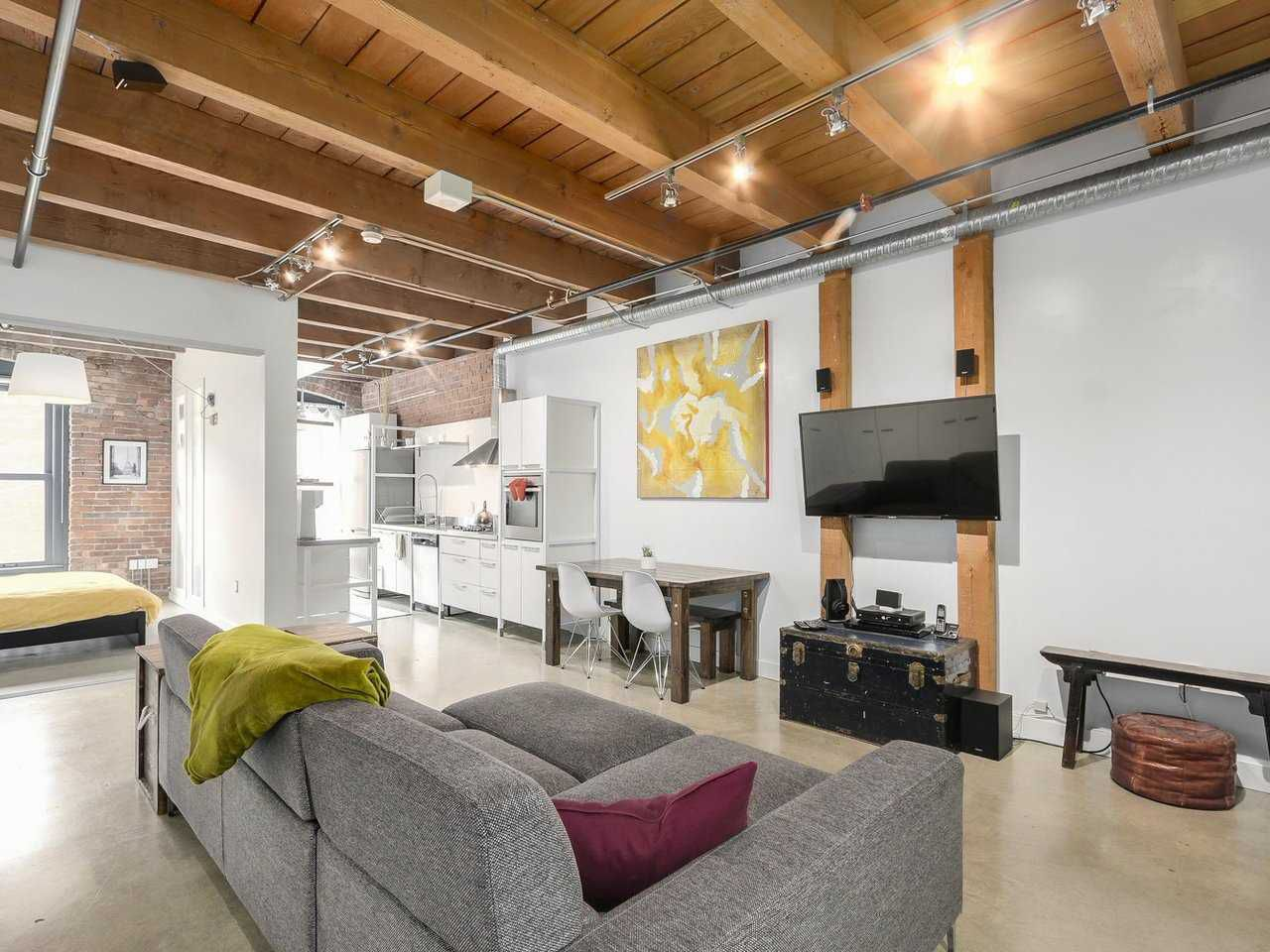 Main Photo: 205 55 E CORDOVA STREET in Vancouver: Downtown VE Condo for sale (Vancouver East)  : MLS®# R2182301