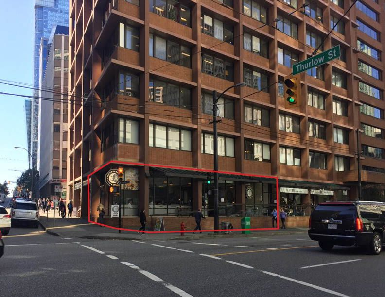Main Photo: ~ CORNER OF THURLOW ST  ~ in : Downtown Business for sale (Vancouver)  : MLS®# C8014887