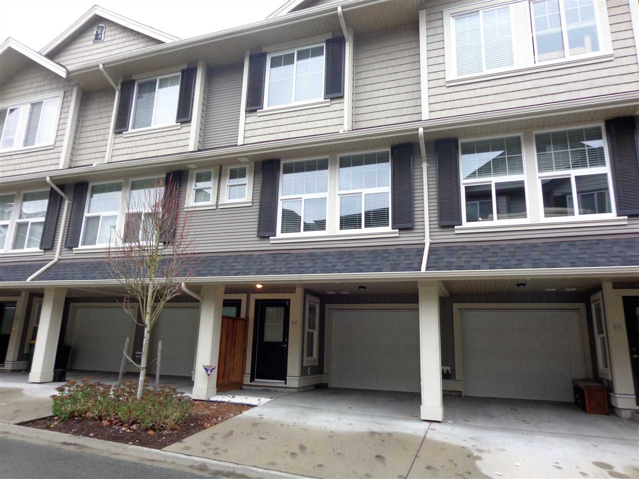 "Main Photo: 66 20831 70 Avenue in Langley: Willoughby Heights Townhouse for sale in ""RADIUS MILNER HEIGHTS"" : MLS®# R2220131"