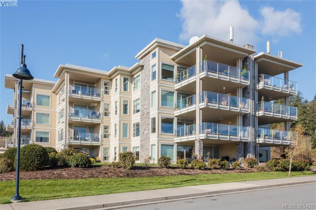 Main Photo: 408 3234 Holgate Lane in VICTORIA: Co Lagoon Condo Apartment for sale (Colwood)  : MLS®# 385420