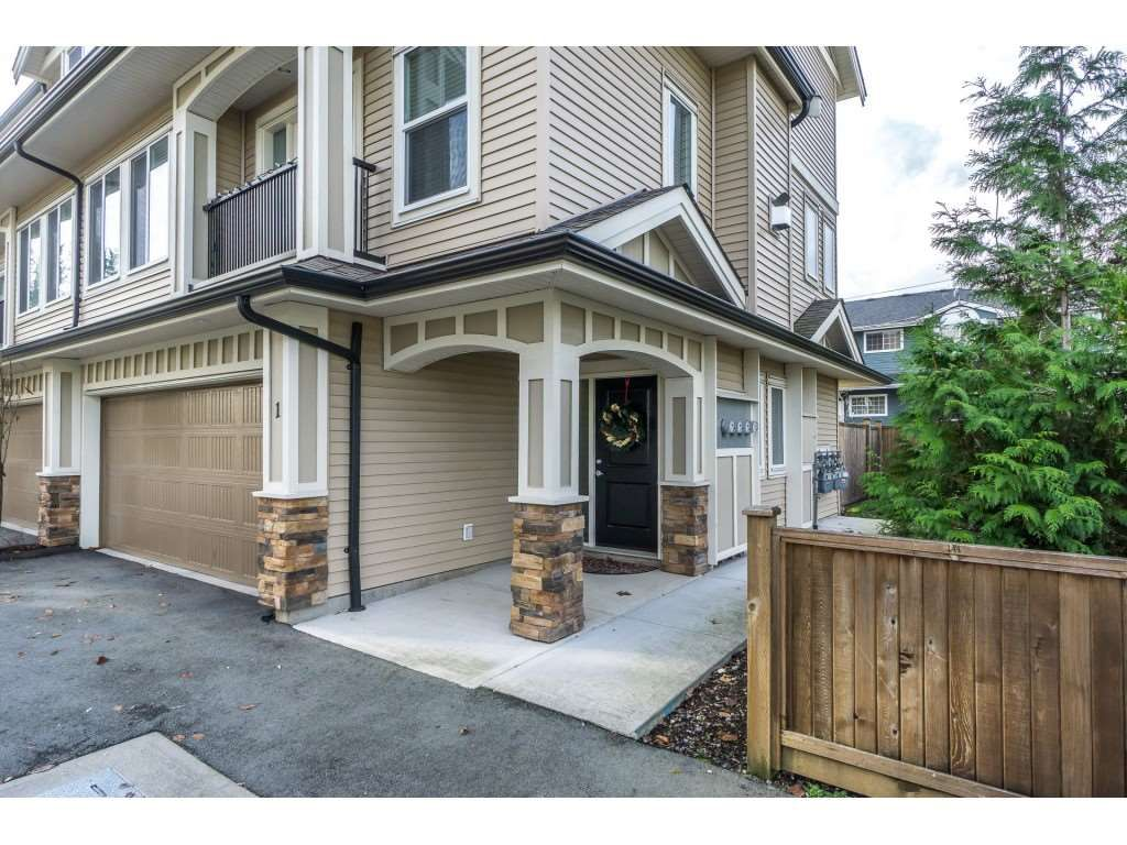 """Main Photo: 1 27234 30 Avenue in Langley: Aldergrove Langley Townhouse for sale in """"Mint Boutique Townhomes"""" : MLS®# R2226277"""