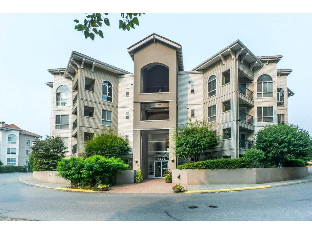 "Main Photo: 401 3174 GLADWIN Road in Abbotsford: Central Abbotsford Condo for sale in ""Regency Park"" : MLS®# R2299008"