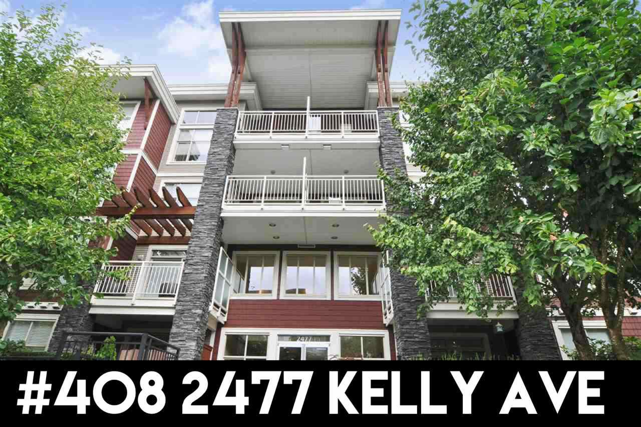 """Main Photo: 408 2477 KELLY Avenue in Port Coquitlam: Central Pt Coquitlam Condo for sale in """"South Verde"""" : MLS®# R2311710"""