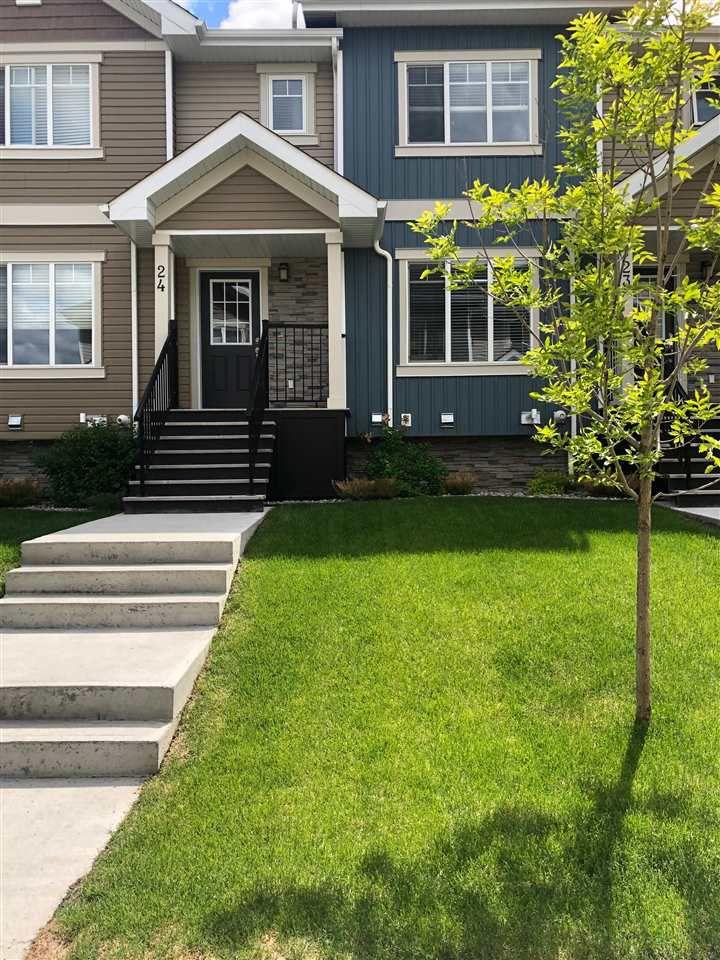 Main Photo: 24 9535 217 street in Edmonton: Zone 58 Townhouse for sale : MLS®# E4147597