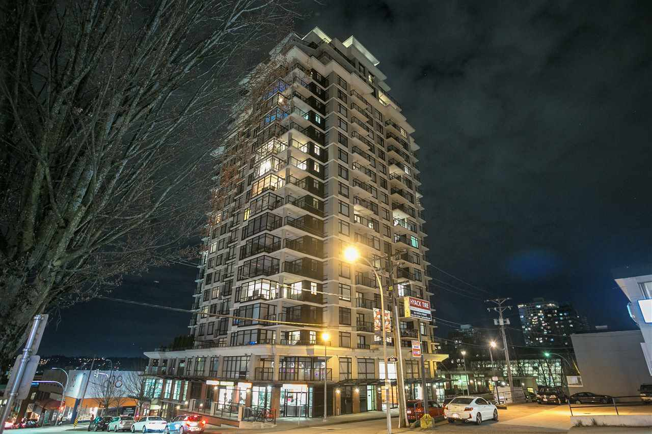 "Main Photo: 1402 610 VICTORIA Street in New Westminster: Downtown NW Condo for sale in ""The Point"" : MLS®# R2353787"
