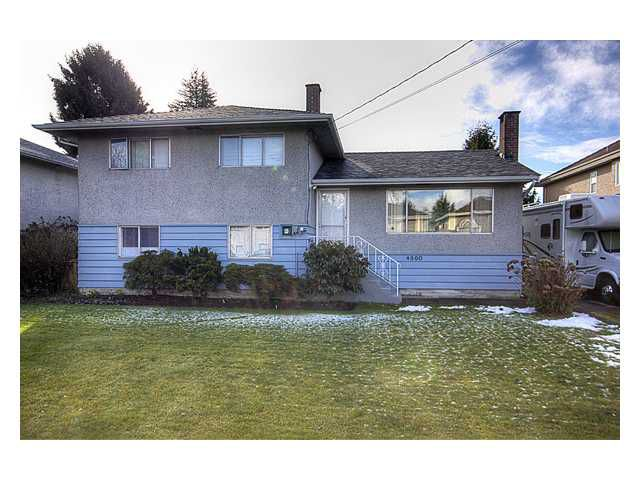 Main Photo: 4860 PENDLEBURY Road in Richmond: Boyd Park House for sale : MLS®# V873913