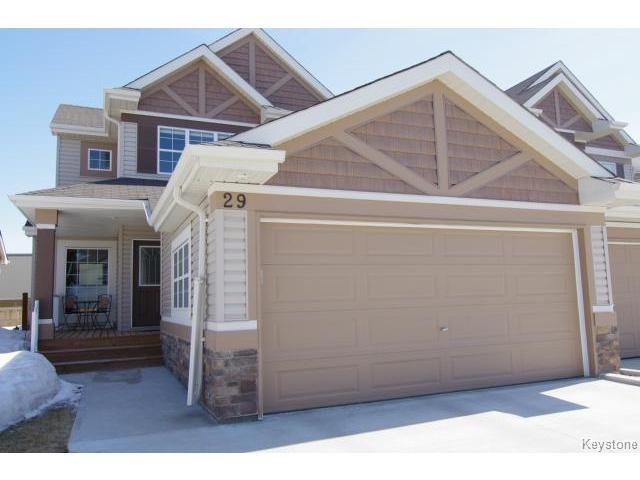 Main Photo: 29 Tommy Douglas Drive in WINNIPEG: Transcona Condominium for sale (North East Winnipeg)  : MLS®# 1407310