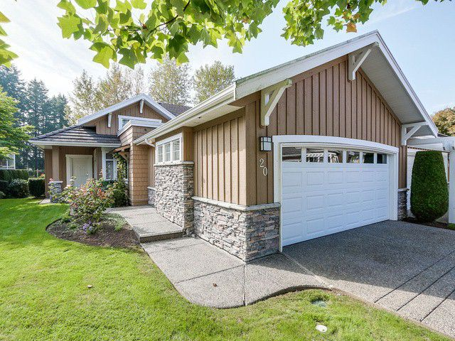"""Main Photo: 20 18088 8TH Avenue in Surrey: Hazelmere Townhouse for sale in """"HAZELMERE VILLAGE"""" (South Surrey White Rock)  : MLS®# F1423933"""